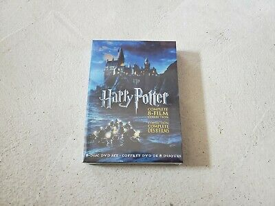 Harry Potter: Complete 8-Film Collection (DVD, 2011, 8-Disc Set) All 8 Movies!
