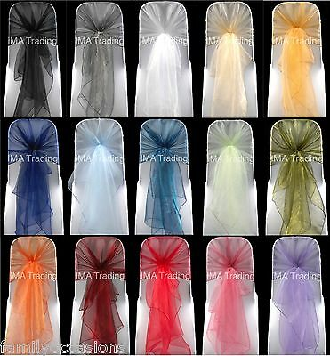 Organza Hoods, Organza Wraps, Organza Sashes Fabric Various Clearance Colours