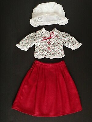 Pleasant Company FELICITY SCHOOL JACKET American Girl DoIl Replacement Red Tie