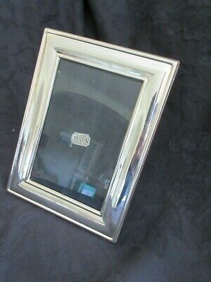 """Vintage Sterling Silver Hallmarked Photo Frame For 6 X 4"""" Photos"""
