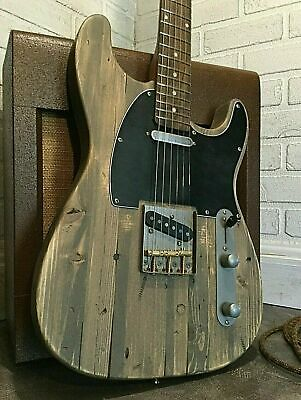 USA Relic Barncaster Tele Strat Hybrid Style Guitar with Fender Tex Mex Pickups