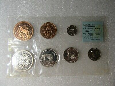 NZ  1965 COIN SET  see note