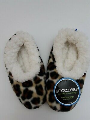 Multi Color Hot Zebra Sz 11-12 Snoozies Toddler/'s Cozy Little Foot Coverings