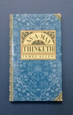 NEW As a Man Thinketh by James Allen [Hardcover, Gift] [Religion, Philosophy]