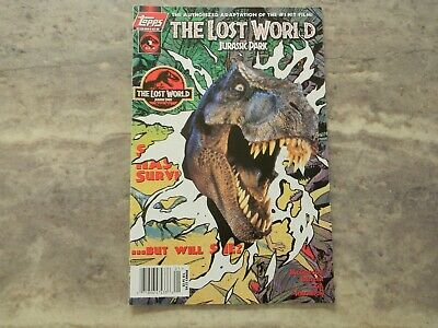 THE LOST WORLD JURASSIC PARK  #1 1997 Topps Comic Book