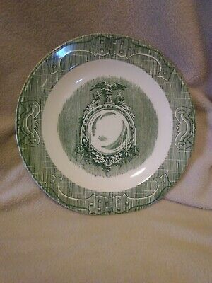 The Old Curiosity Shop By Royal China Green Salad Plate  Underglaze 9/26