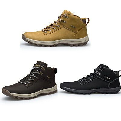 New Men Martin Boots Snow Boots Warm Winter skid Shoes Sneakers Adult Outdoor