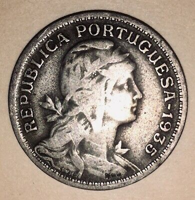 Collectible Series 1927-1968 Old Portugal Coin Lot 50 CENTAVOS FREE SHIP