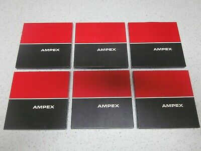 "Ampex 748 151111 Reel To Reel 7"" Reels And Tapes  * Near Mint *"