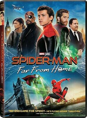 Spider-Man: Far from Home DVD New and Unopened! Free Shipping!