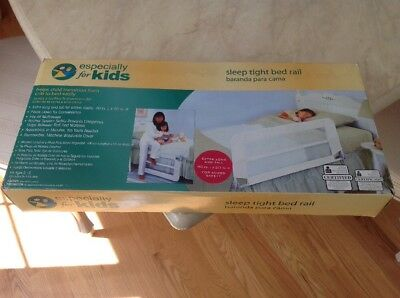Sleep Tight Side Bed Rails - Especially For Kids - Transition From Crib To Bed