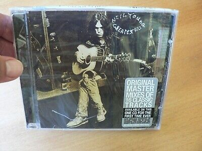 New Sealed Neil Young  Greatest Hits Cd + Free Shipping