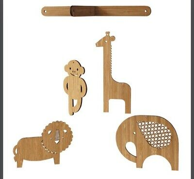 NEW Petit Collage Baby Nursery Bamboo Mobile