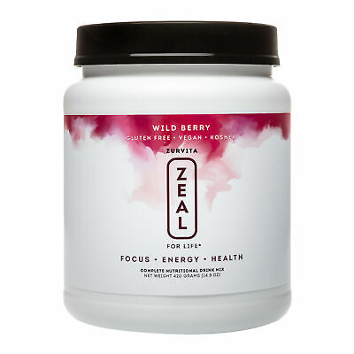Zurvita- Zeal for Life- 30-Day Wellness Canister- Wild Berry