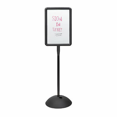 "Safco Write Way Dual-sided Directional Sign - 1 Each - 18"" Width x 65"" Height -"
