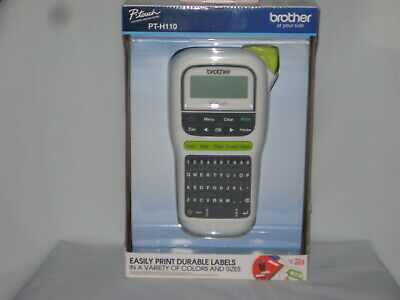 Brother P-Touch PT-H110 Portable & Easy to Use Label Maker *Brand New