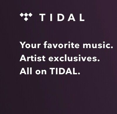 Tidal HiFi 3 Month Subsciption Code