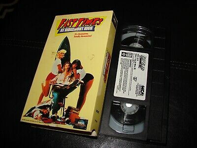 VHS Fast Times at Ridgemont High 1987 MCA Home Video Phoebe Cates SEAN Penn