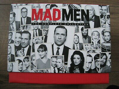 Mad Men Complete Series Collection Blu Ray Box Set Seasons 1, 2, 3, 4, 5, 6, 7