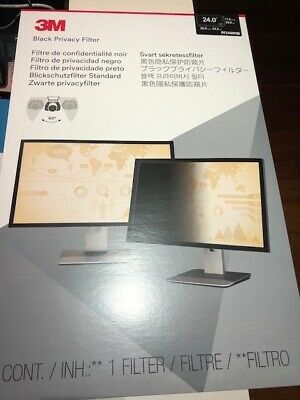 3M Black Privacy Filter PF240W9B Brand New Unopened