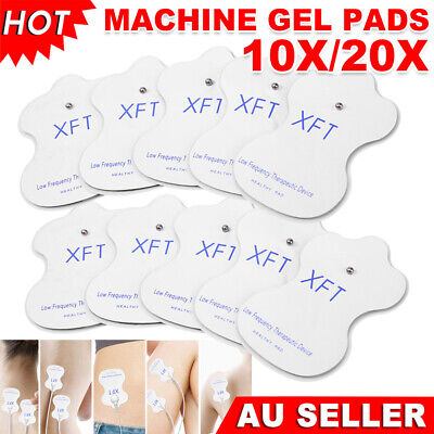 10/20X TENS Machine Pads Replacement Electrode Pad Self-Adhesive Massager Relief