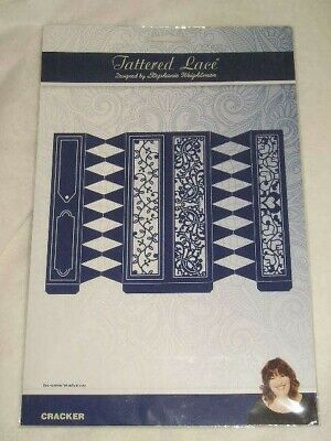 Tattered Lace Cutting Dies - Large Cracker 16.3 x 22.6 cm (E)