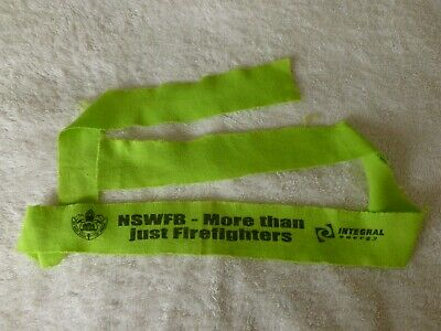 NSW Fire Brigade / NSWFB Promotional Headband - Firefighter Collectable
