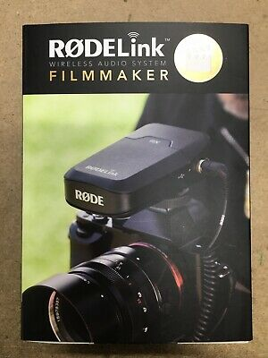 Rode RODELink Filmmaker Wireless Microphone Kit Digital System w/ Lapel Mic