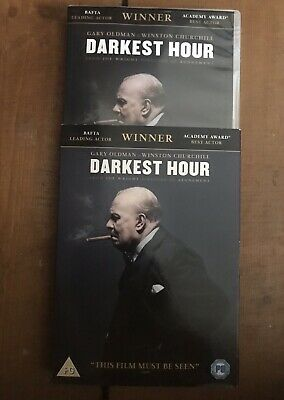 Darkest Hour DVD 2017 Winston Churchill World War 2 Gary Oldman