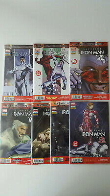 """Superior Iron Man 1-7 Ciclo Completo """"All-New Marvel Now"""" (New Avengers 26-32)"""