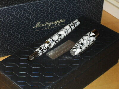 Montegrappa Fortuna Roma fountain pen, M nib, NEW IN BOX