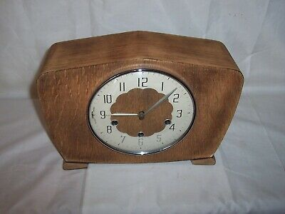 Smiths 8 Day Westminster Chiming Mantel Clock. Cleaned And Oiled.