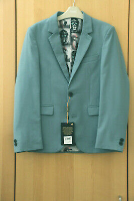 Next Boys Smart Pale Blue Jacket Age 7 Years BNWT Tag £40