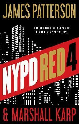 NYPD Red 4 by James Patterson and Marshall Karp (2016, CD, Unabridged)