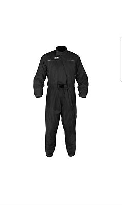Oxford Rain Seal Black Motorcycle Motorbike All Weather Over Suits | Medium