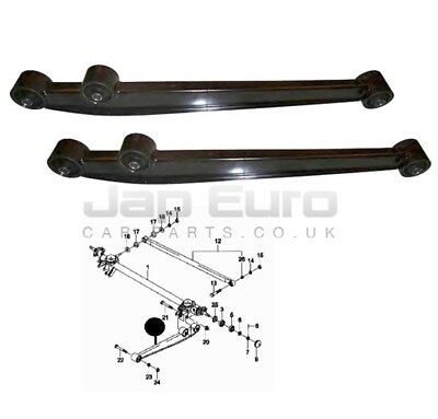 For Suzuki Ignis Left + Right Rear Lower Control Lateral Rod Trailing Arm