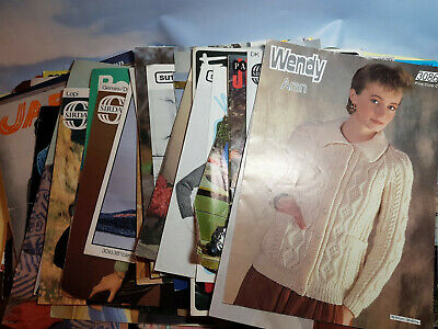 70 plus Vintage Knitting Patterns mainly from the 1960s & 1970s