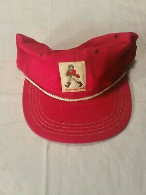 Johnnie Walker Taylor Made Whisky Cap SnapBack Hat Men Red White Patch Rare