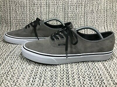 Vans Authentic Scotchgard, Uk Size 10, Brand New, Men's Trainers,Grey Skate Gym