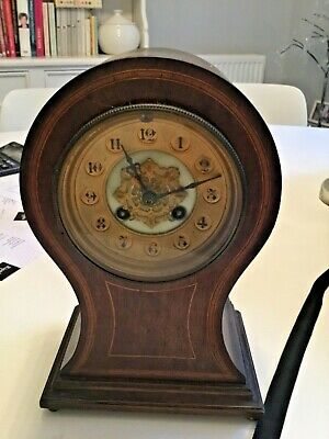 Wooden Antique French Mantle Clock