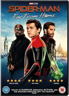 Spider-Man Far from Home ~ DVD ~ Pre-Order ~ NEW Sealed ~ 5035822262737