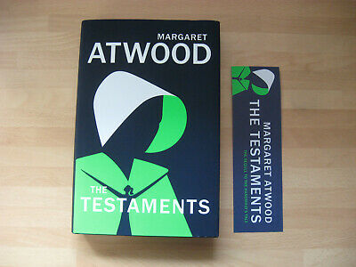 Margaret Atwood The Testaments 1st/1st Booker Prize 2019 Handmaid's Tale sequel
