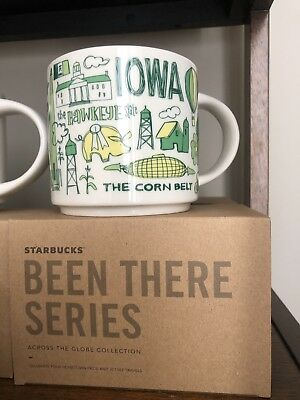 "Starbucks ""Been There Series"" Iowa Mug"