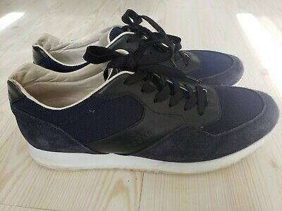 New MENS HOGAN GRAY INTERACTIVE MOD SPORTIVO SUEDE Sneakers Retro