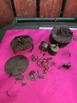 antique french clock movements for parts