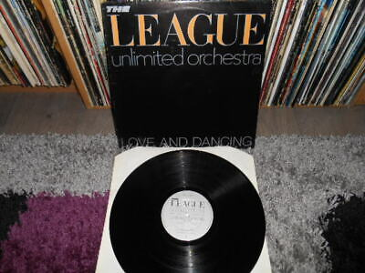 The League Unlimited Orchestra  Love And Dancing  Uk  Orig  Lp  1981. Oved 6