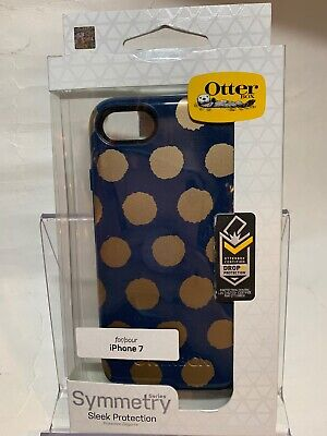 Authentic Otterbox Symmetry Series for iPhone 7 & iPhone 8 (Blue)