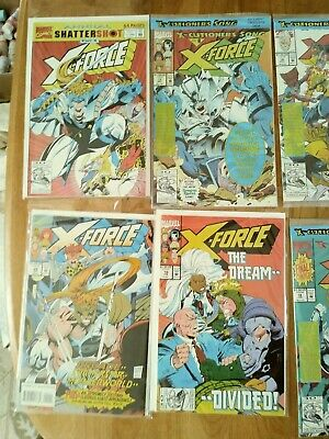 SALE! X-Force and FF vs X MEN LOT OF 9  ALL super high grade! Annual #1!  HOT!