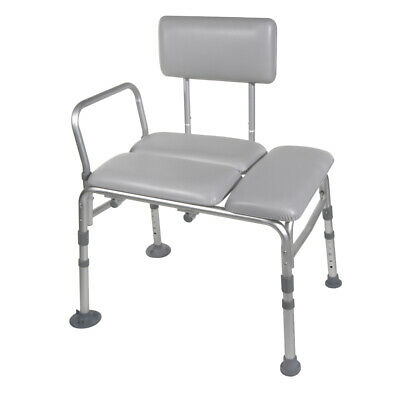 Drive Medical 12005KD-1 Padded Seat Transfer Bench