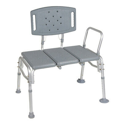 Drive 12025KD-1 Heavy Duty Bariatric Plastic Seat Transfer Bench